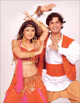 Keerti and Sharad Kelkar