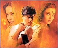 Madhuri Dixit, SRK, Aishwarya Rai in Devdas