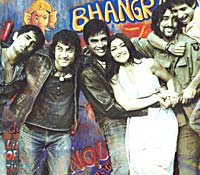A still from Rang De Basanti