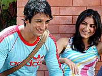 Sharman and Soha Ali Khan in RDB