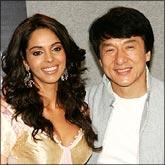Mallika Sherawat and Jackie Chan
