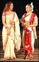 Hema Malini and Ahana Deol