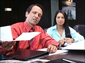 Kay Kay Menon and Bipasha Basu in Corporate