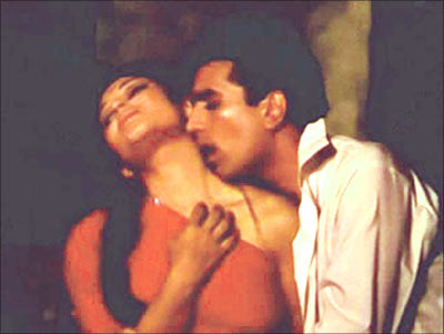 Sharmila Tagore and Rajesh Khanna