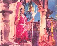 A still from Jai Santoshi Maa
