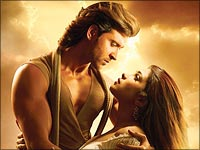 A still from Krrish