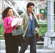 Rani Mukerji and SRK in KANK