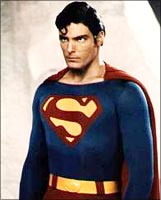 Christopher Reeve in Superman