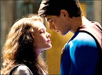 Kate Bosworth and Brandon Routh in Superman Returns