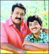 Mohanlal and Meera Jasmine