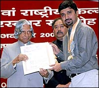 With President Abdul Kalam
