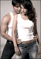 Sohail Khan and Sneha Ullal in Aryan