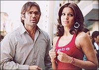 Suniel Shetty and Bipasha Basu