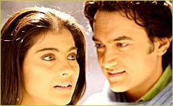 Kajol and Aamir in Fanaa