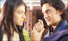 Kajol, Aamir in Fanaa