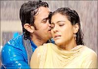 Aamir, Kajol in Fanaa