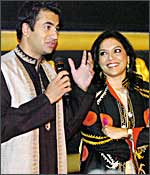 Kal Penn and Mira Nair