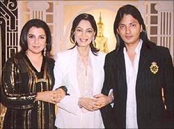 Farah Khan, Simi Garewal and Shirish Kunder