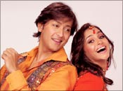 Arjun and Gurdeep in Nach Baliye 2