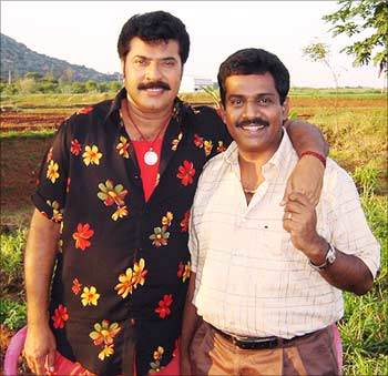 Mammootty with Vinod Kumar