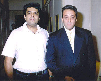 Manoj Subramaniam and Sanjay Dutt
