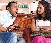 Rahul Bose and Mallika Sherawat