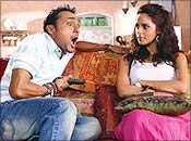 Rahul Bose and Mallika Sherawat in PKSE