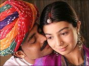 Shreyas Talpade and Ayesha Takia in Dor