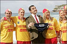 A still from Mr Bean's Holiday
