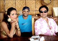 Malaika Arora, Indrajith and Arbaz Khan.