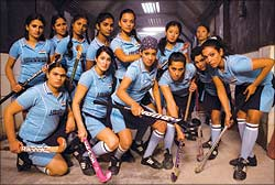 A still from Chak De India