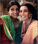 Konkona Sen Sharma and Rani Mukerji in Lagaa Chunari Mein Daag