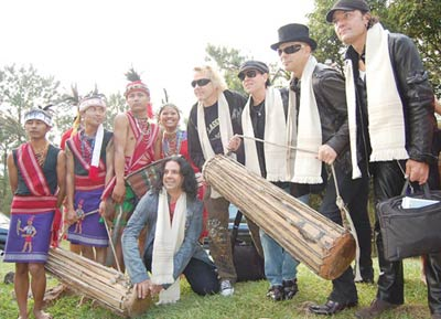 The band in Shillong