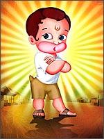 A still from Return Of Hanuman