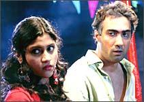 konkona Sen Sharma and Ranvir Shorey