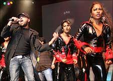 Himesh Reshammiya, in concert