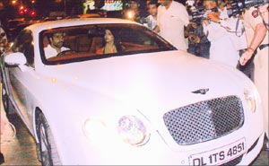 Abhishek's Bentley