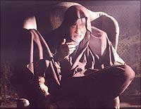 Amitabh Bachchan as Gabbar Singh in Ram Gopal Varma's Sholay