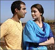 Ranvir Shourey and Dia Mirza