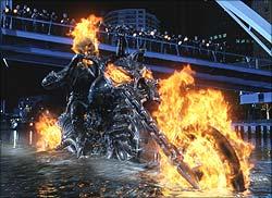 A still from Ghost Rider