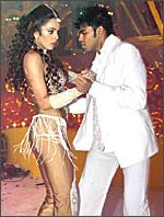 Mallika's controversial performance
