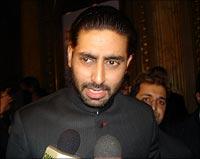 Abhishek Bachchan in Toronto
