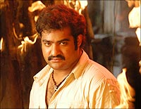 NTR Jr in Rakhee