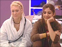 Shilpa Shetty on Big Brother UK