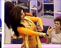 Shilpa Shetty in Big Brother UK