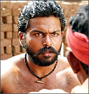A still from Paruthiveeran