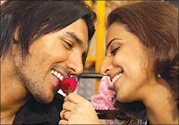 A still from Salaam-e-ishq