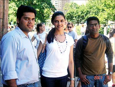 Reader Nagaraj Bhat, Deepika Padukone, Shankar
