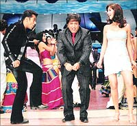A still from the upcoming David Dhawan flick, IPartner/I