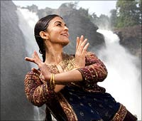 Aishwarya Rai in a still from the film Guru
